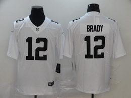 Mens Nfl Tampa Bay Buccaneers #12 Brady White Color Rush Vapor Untouchable Limited Jerseys