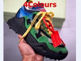 Mens And Women Off White 19fw Running Shoes 4 Colors