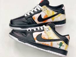 Mens And Women Nike Sb Dunk Low Pro Raygun Tie-dye Running Shoes One Color