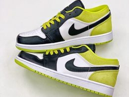Mens And Women Nike Air Jordan 1 Low Running Shoes One Color
