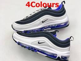 Mens And Women Nike Air Max 97 New Running Shoes 4 Colours