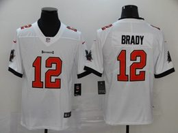 Mens Women Youth Nfl Tampa Bay Buccaneers #12 Tom Brady 2020 White Vapor Untouchable Limited Jerseys