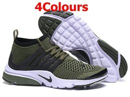 Mens And Women Nike Air Presto Flyknit Ultra Running Shoes 4 Colors