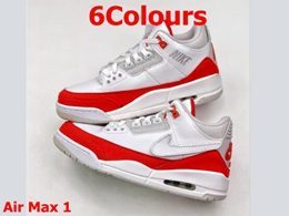 Mens Air Jordan 3 Nike Logo Running Shoes 6 Colors