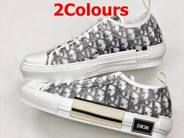 Mens And Women B23 Oblique Low Sneakers Running Shoes 2 Colors