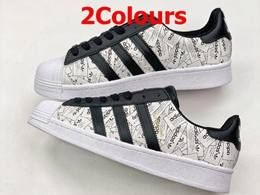 Mens And Women Adidas Originals Superstar 50th Running Shoes 2 Colors