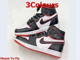 Mens And Women Nike Air Jordan 1 High New Running Shoes 3 Colors