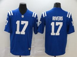 Mens Nfl Indianapolis Colts #17 Philip Rivers 2020 Blue Vapor Untouchable Limited Jersey