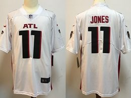 Mens Nfl Atlanta Falcons #11 Julio Jones 2020 White Vapor Untouchable Limited Jersey
