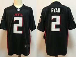 Mens Nfl Atlanta Falcons #2 Matt Ryan 2020 Black Vapor Untouchable Limited Jersey