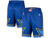 Mens 2020 All Star Nba Mens Nike Blue Shorts