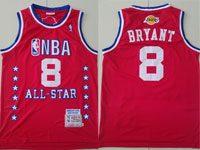 Mens 2003 All Star Nba Mens Nba Los Angeles Lakers #8 Kobe Bryant Red Swingman Hardwood Classics Jersey