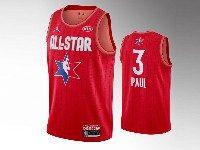Mens 2020 All Star Nba Houston Rockets #3 Chris Pau Red Swingman Jordan Brand Jersey