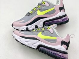 Women Nike Air Max 270 React Running Shoes One Color