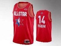 Mens 2020 All Star Nba Los Angeles Lakers #14 Brandon Ingram Red Swingman Jordan Brand Jersey