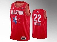 Mens 2020 All Star Nba Miami Heat #22 Jimmy Butler Red Swingman Jordan Brand Jersey