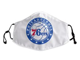 Mens Nba Philadelphia 76ers White Face Mask Protection