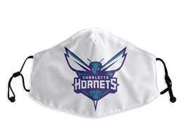 Mens Nba New Orleans Hornets White Face Mask Protection