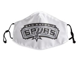 Mens Nba San Antonio Spurs White Face Mask Protection