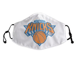Mens Nba New York Knicks White Face Mask Protection