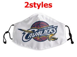 Mens Nba Cleveland Cavaliers White Face Mask Protection 2 Styles