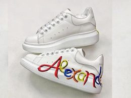 Mens And Women Alexander Mcqueen Running Shoes One Color