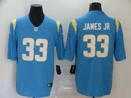 Mens Nfl Los Angeles Chargers #33 Derwin James 2020 Light Blue Vapor Untouchable Limited Jerseys