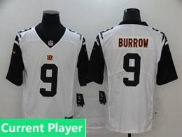 Mens Women Youth Nfl Cincinnati Bengals 2020 White Current Player Color Rush Vapor Untouchable Limited Jersey