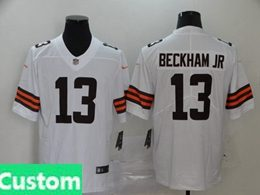 Mens Women Youth Nfl Cleveland Browns 2020 White Custom Made Vapor Untouchable Limited Jersey