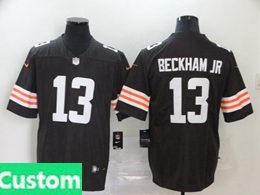 Mens Women Youth Nfl Cleveland Browns 2020 Brown Custom Made Vapor Untouchable Limited Jersey