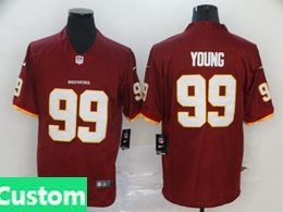 Mens Women Youth Nfl Washington Redskins 2020 Red Custom Made Vapor Untouchable Limited Jersey
