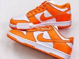 Mens And Women Nike Dunk Low Syracuse Running Shoes One Color