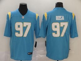 Mens Nfl Los Angeles Chargers #97 Joey Bosa 2020 Light Blue Vapor Untouchable Limited Jersey