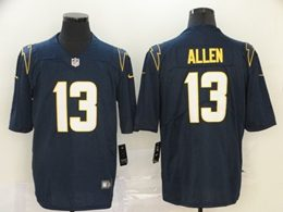 Mens Nfl Los Angeles Chargers #13 Keenan Allen 2020 Dark Blue Vapor Untouchable Limited Jersey