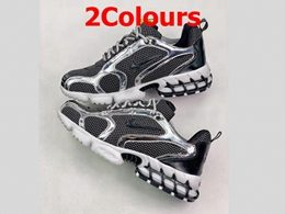 Mens And Women Stussy And Nike Air Spiridon Caged Running Shoes 2 Colors