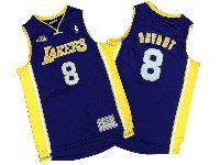 Mens Nba Los Angeles Lakers #8 Kobe Bryant Pruple Mitchell&ness Hardwood Classics Jersey