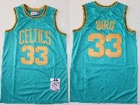 Mens Nba Boston Celtics Bathing #33 Larry Bird Green 1995-96 Mitchell&ness Hardwood Classics Jersey