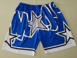 Mens Nba Orlando Magic Blue Fashion Mitchell&ness Hardwood Classics Shorts