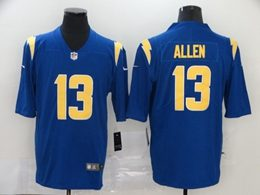 Mens Nfl Los Angeles Chargers #13 Keenan Allen 2020 Blue Color Rush Vapor Untouchable Limited Jersey