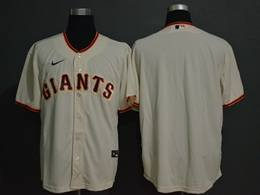 Mens Mlb San Francisco Giants Blank Cream Cool Base Nike Jersey