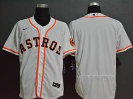 Mens Mlb Houston Astros White Blank Flex Base Nike Jersey