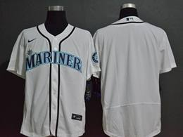 Mens Mlb Seattle Mariners White Blank Flex Base Nike Jersey