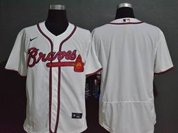 Mens Mlb Atlanta Braves White Blank Flex Base Nike Jersey