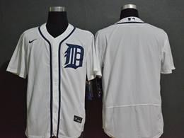Mens Mlb Detroit Tigers White Blank Cool Base Nike Jersey