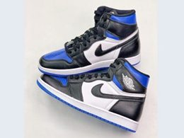 Mens And Women Nike Air Jordan 1 Game Royal High Running Shoes One Color