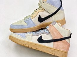 Mens And Women Nike Sb Dunk High Spectrum Running Shoes One Color