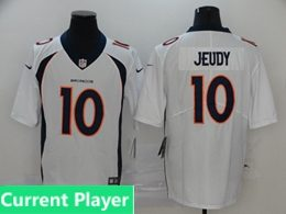 Mens Women Youth Nfl Denver Broncos 2020 White Current Player Vapor Untouchable Limited Jersey