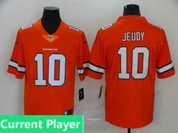 Mens Women Youth Nfl Denver Broncos 2020 Orange Current Player Color Rush Vapor Untouchable Limited Jersey