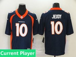 Mens Women Youth Nfl Denver Broncos 2020 Blue Current Player Vapor Untouchable Limited Jersey