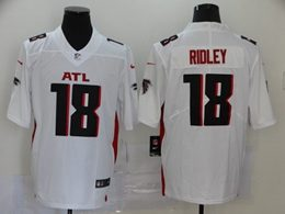 Mens Nfl Atlanta Falcons #18 Calvin Ridley 2020 White Vapor Untouchable Limited Jersey